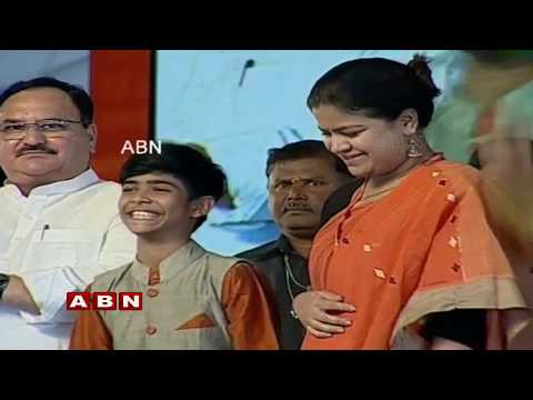 BJP Chief Amit shah Addresses BJYM National Convention LIVE | Secunderabad