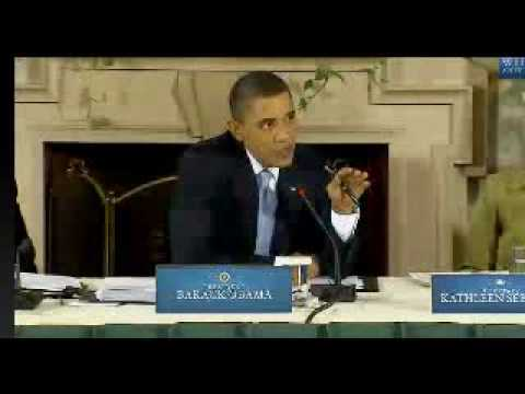 Obama/Congress Health Care Summit- Part 1