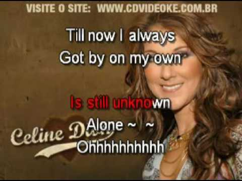 Celine Dion   Alone