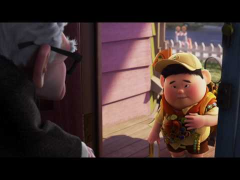 Meet Russell- exclusive clip from Disney