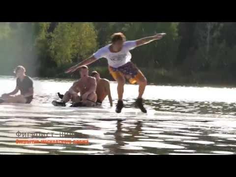 """""""Фигурист-шоу"""" на воде!"""