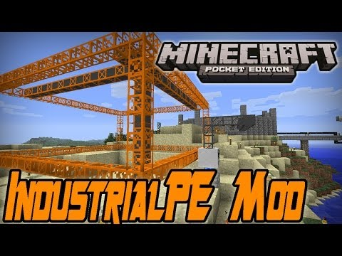 IndustrialPE Mod Minecraft PE: Mod Showcase 0.8.1