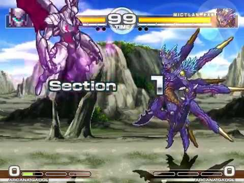 MUGEN : Tales of Destuction Gaap vs Mictlan EXE