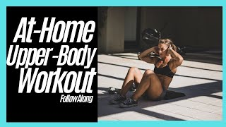 CrossFit Workout | Upper Body Workout | At-home Workout | 15 minute workout