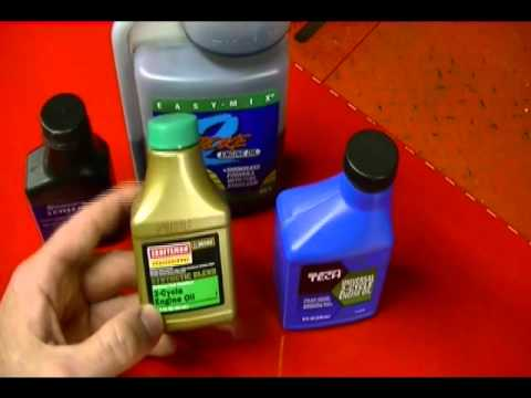 Small Engine Repair: How to Calculate or Mix 2 Stroke Oil with Gasoline or Petrol