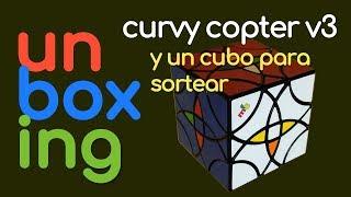 Unboxing mf8 CurvyCopter v3 y Cubo para Sortear | Rubik
