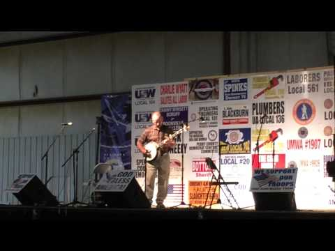 Mark Walcott at the Indiana Picking and Fiddling Contest - August 2014