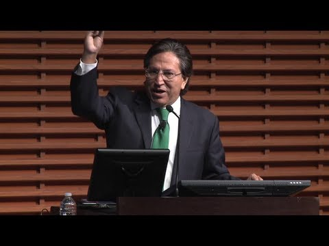 Alejandro Toledo: Latin America in the World Economy
