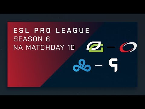 CS:GO: OpTic vs. compLexity [Train] - Day 10 - ESL Pro League Season 6 - NA 2nd Stream