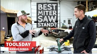 Is this the best miter saw stand you've never heard of?