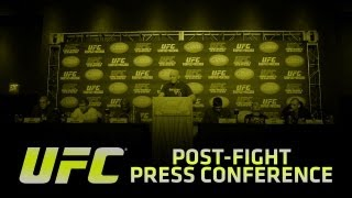 UFC 158: St-Pierre vs Diaz Post-fight Press Conference