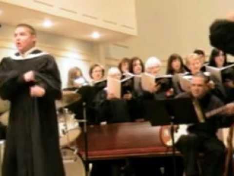Ward Saxton tenor soloist - Sanctus from Gospel Mass by Robert Ray