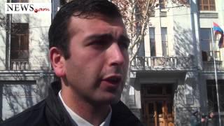 Avetisyanneri gortsov akcia dataxazutyan dimac - 27.02.2015