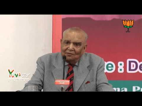 Lt.Gen S.K. Sinha (PVSM) speech on Threats to India's National Identity and Security - 25 June 2013