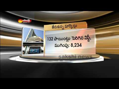 Sensex surges over 300 points