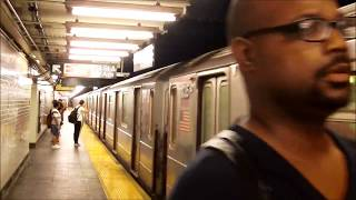 August 2016 NYCTA 6 Subway action at 103rd St