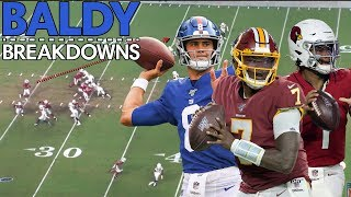 Analyzing Kyler Murray, Dwayne Haskins, and Daniel Jones Debut Games! | Baldy Breakdowns