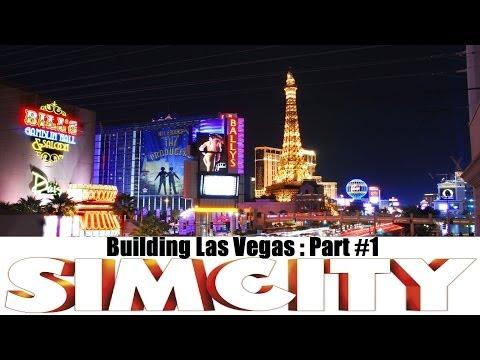 Simcity 5 :: Building Las Vegas :: Road Layout 1/2 :: Part #1 :: 1080p - Casino City