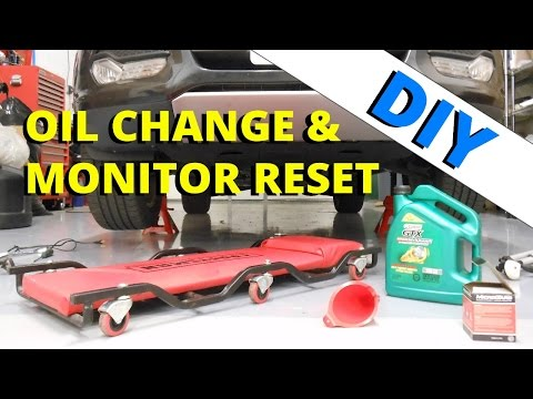 2013 Ford Escape Oil Change and Monitor Reset: HOW TO ESCAPE