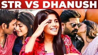 """SIMBU & DHANUSH are.."" – Megha Akash Opens Up | Enai Noki Paayum Thota | Boomerang"