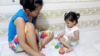[ThienNhan] 17052018 - bé tập nhận biết màu sắc