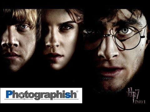 0 HARRY POTTER 7 POSTER EFFECT  Photoshop Tutorial by Philipp Hebold
