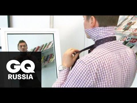 Видео как научиться завязывать галстук