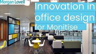 Innovation in office design - video tour of Monitise