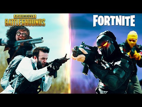 PUBG vs Fortnite