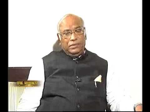 Manoj Tibrewal Aakash interviewed Mallikarjun Kharge, Minister for Railways for Doordarshan News