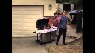 """Mister Steal your Grill"" Brian Moreno, Nathan Boyce"