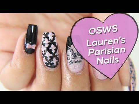 OSWS  Lauren's Parisian Nails