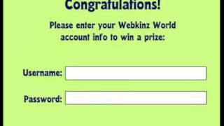 Webkinz Newz Grey Owl POTM Video Challenge Prize Friends of Earth Trophy
