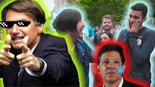 HIPNOTIZEI UM PETISTA E ELE QUIS VOTAR NO BOLSONARO !