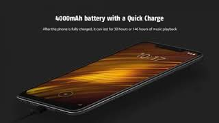 Best of Xiaomi Pocophone  F1 6.18 inch 4G Phablet Global Version - GRAPHITE BLACK