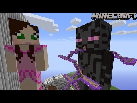 Minecraft: Notch Land - GIANT ENDERMAN RIDE [2]