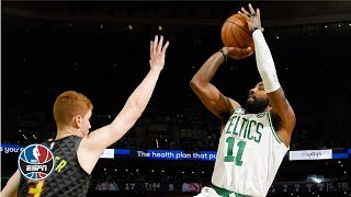 Kyrie Irving leads Celtics past Hawks to 8th straight win | NBA Highlights