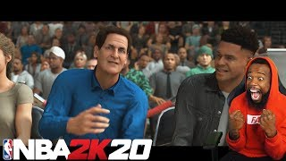 NBA 2K20 MYCAREER LIVE REACTION! NEW CUT SCENES! OLD PARK??!