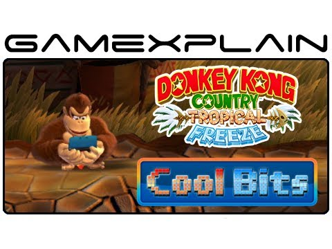 Cool Bits - Donkey Kong Country: Tropical Freeze's Idle Animation Secrets - 3DS, Partners, & More!