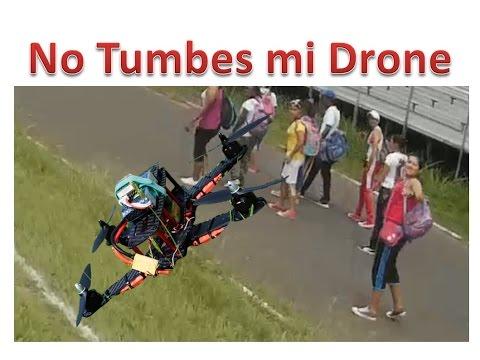 Drone De carreras ZMR250 Intento De Derribamiento