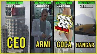 TOP 5 BUSINESS PER GUADAGNARE MILIONI DI DOLLARI SU GTA 5 ONLINE! (GTA 5 Online ITA)