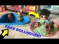 LOL Surprise Dollhouse DIY Doll House Custom LOL Surprise Series 4 Wave 3 #hairgoals