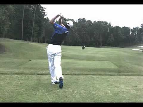 Justin Rose Slow Motion Swing Video