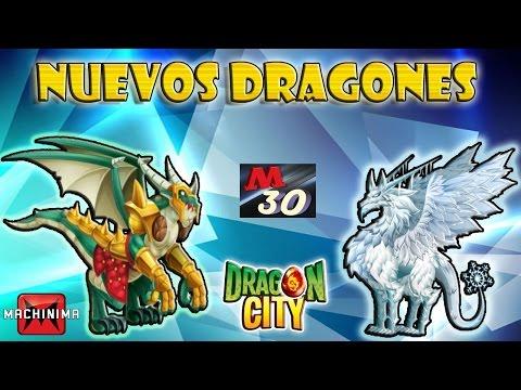 Review Dragones CIUDADELA Y FRIO Dragon City HD