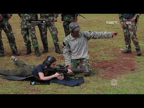 download lagu Latihan Menembak Bareng Korps Marinir, Chacha Frederica Ketagihan gratis