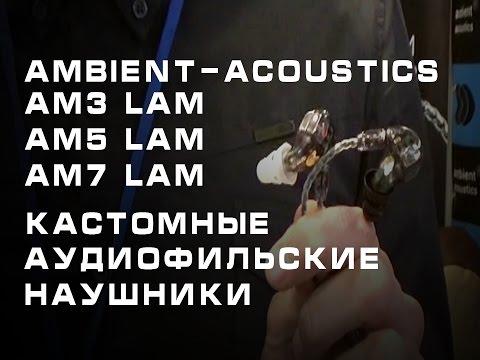 Обзор аудиофильских наушников от Ambient-Acoustics