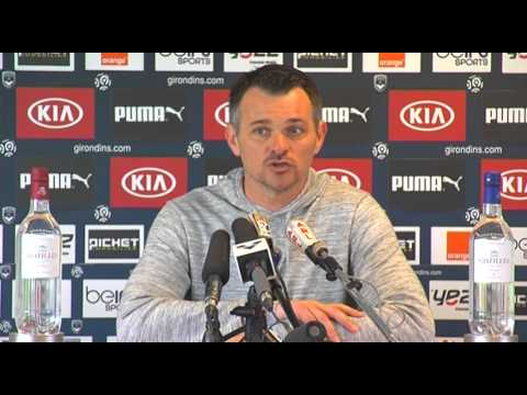 Point Presse - Willy Sagnol - Lille vs Bordeaux
