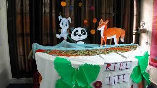 Puppet Show By Real Life Kids Pre School Best Pre school of Jalandhar