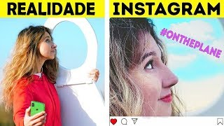 INSTAGRAM VS  VIDA REAL