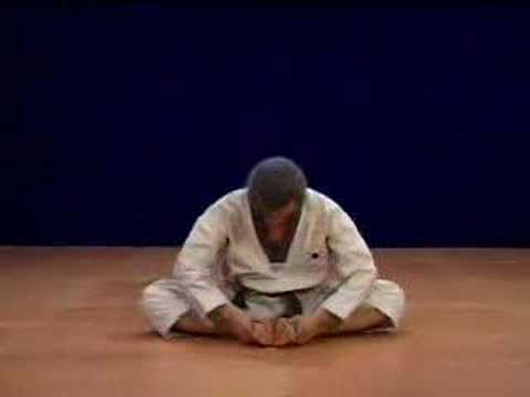 Master KANG, Shin Chul: stretching exercises